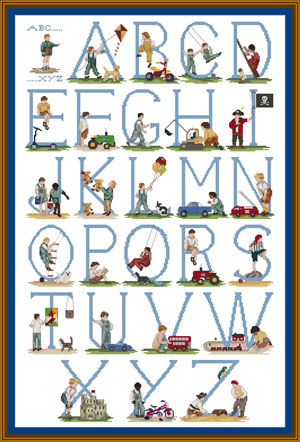 Alphabet Letters For Baby Names